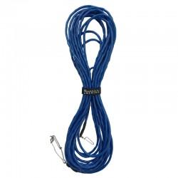 Float Line Blue w/Tuna Cord Inside & Tuna Clips