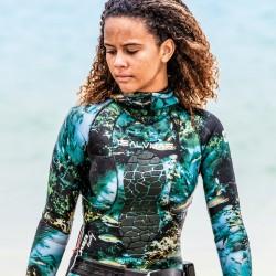 Salvimar Seawalker 2 Piece Women Wetsuit (3.5mm, 5.5mm)